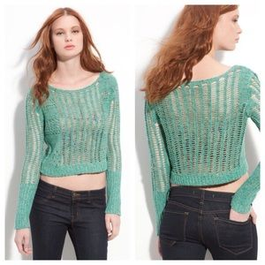 Free People Sweaters - Free people Goccia open knit sweater
